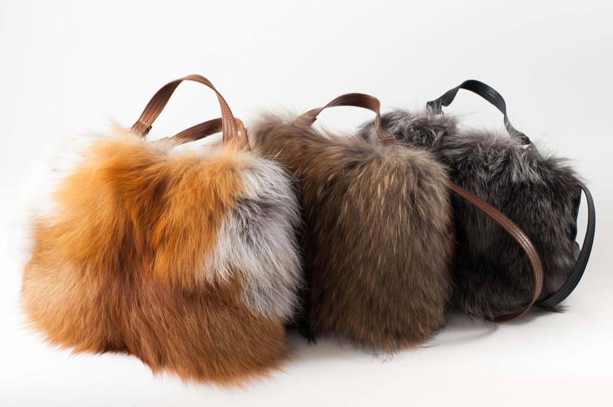 Kožešinové kabelky